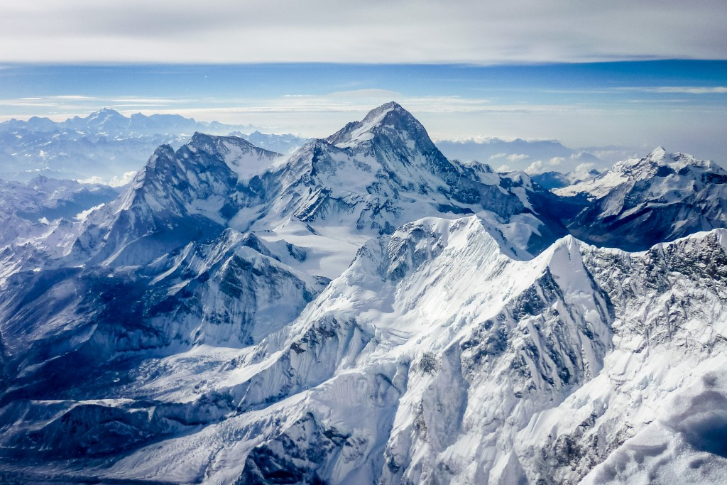 Makalu as seen from Everest final ridge
