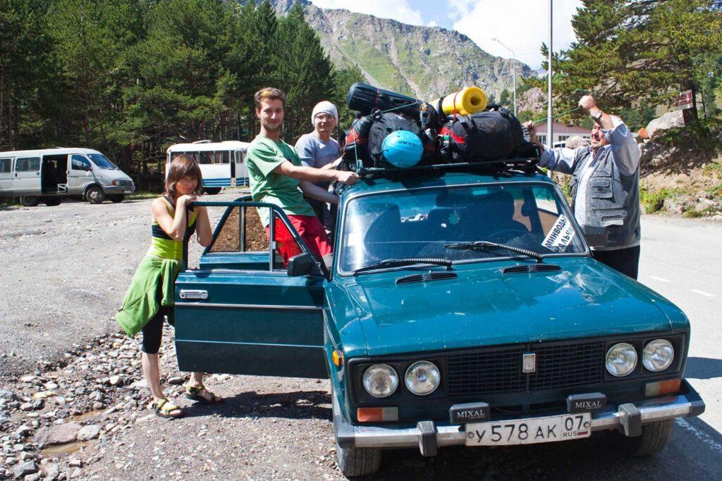 Caucasus Range, Russia
