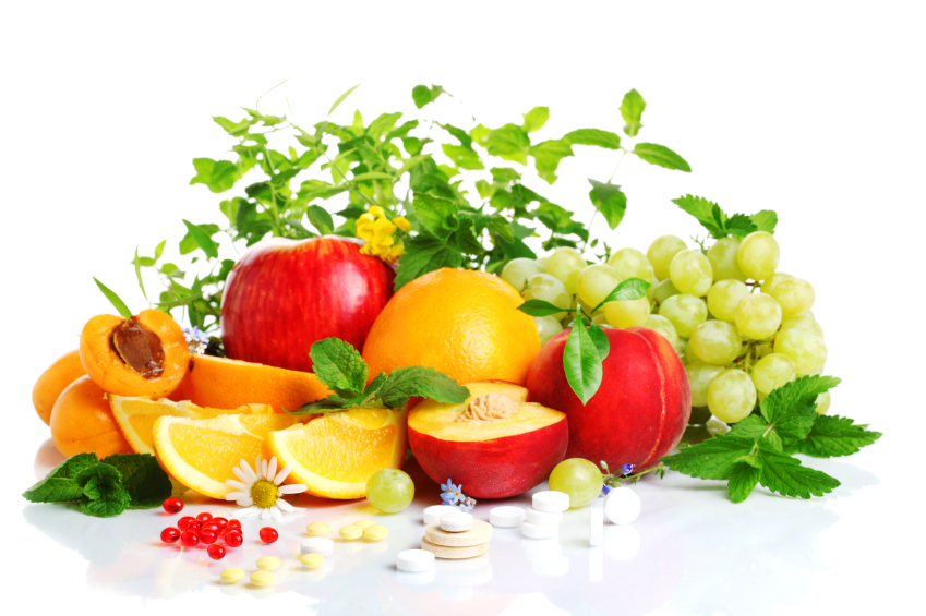 Fresh Fruits And Vitamins