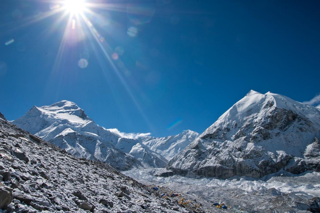 Cho Oyu, 8201m, on the Tibet Side